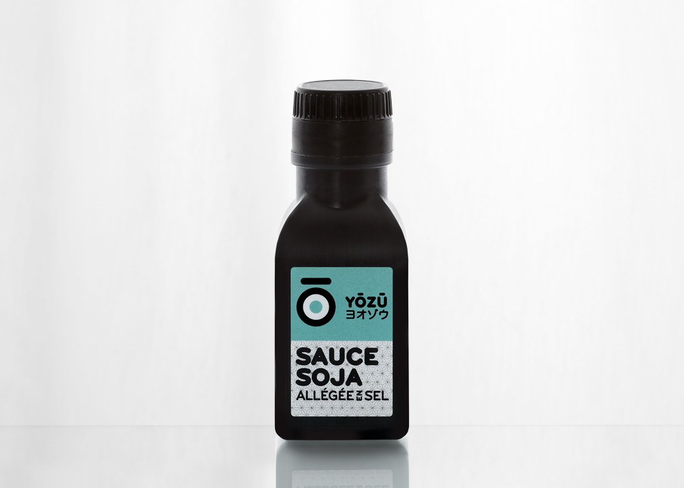 Sauce Soja Allégée en Sel YOZO 100ml (par 24 unités)