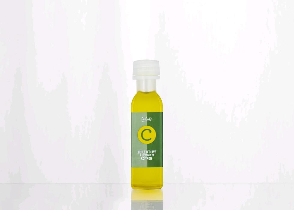Huile d\'Olive à l\'extrait de Citron 30ml pedrito